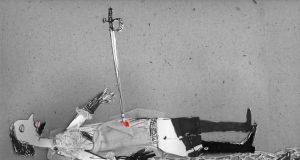 """Биеннале """"Фехтование в искусстве"""". Васильева Ирина """"За кардинала!"""" 2009"""