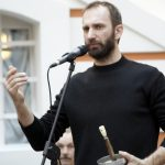 Георгий Кобиашвили проводит мастер-класс по сценическому фехтованию на Гранд Ассо 2012