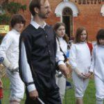 Георгий Кобиашвили - ведущий праздника День Фехтовальщика 2006