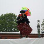 День Фехтовальщика 2008. Ведущие праздника Дмитрий Тейбер-Лебедев и Георгий Кобиашвили