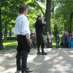 SPb HEMA Club - Swordsman's Day 2016. Eugenio Garcia-Salmones and Ruslan Kaprilov