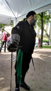 SPb HEMA Club - Swordsman's Day 2016. Eugenio Garcia-Salmones. Photo by S. Lionne