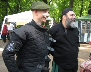 SPb HEMA Club - Swordsman's Day 2016. Eugenio Garcia-Salmones (right)