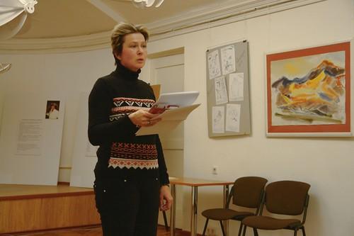 Екатерина Полянская. СПбФК, Дни фехтовальной культуры 2015. Поэтический вечер
