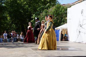 Ансамбль танцев эпохи Возрождения « Vento del tempo» Фото: Михаил Шеремет