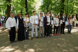 Фехтовальная школа «Плащ и шпага» - вручение дипломов на празднике День Фехтовальщика 2018