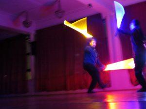 «Скиурус».Святочный вечер фехтовальщиков 2016 в Санкт-Петербургском Фехтовальном Клубе.  Фото: Сергей Ефимов