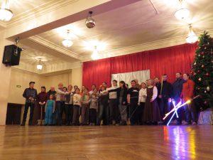 Святочный вечер фехтовальщиков 2016 в Санкт-Петербургском Фехтовальном Клубе. Фото Сергей Ефимов