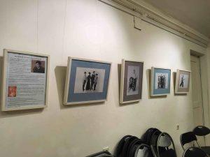 25-летний путь Руслана Каприлова в фехтовании был проиллюстрирован выставкой фотографий 2018, Центр искусства и музыки ЦГПБ им. Маяковского, Невский, 20