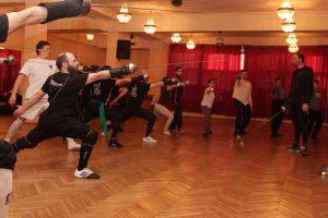 НЕМА workshop - cеминар Francesco Lodà / Франческо Лода в Санкт-Петербургском Фехтовальном Клубе, апрель 2016  Фото: Марина Чибисова