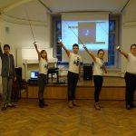 Юбилей Руслана Каприлова на Днях фехтовальной культуры 2018. Поздравляют ученики школы