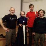 HEMA Days 2019. J.P. Esparceil in the Saint Petersburg Swordsmanship Club. Photo: Marina Chibisova