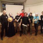 Workshop by Jean-Pascal Esparceil«Sword and buckler from manuscript I.33» in the Saint Petersburg Swordsmanship Club. Photo: Marina Chibisova