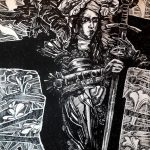 Эль-Сафади Виктор Видение Жанны д'Арк Б., см. техника. 80х60
