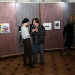 Вернисаж Санкт-Петербургской биеннале «Фехтование в искусстве» 2019. Фото: Михаил Додакин