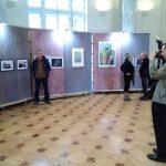 Вернисаж Санкт-Петербургской биеннале «Фехтование в искусстве» 2019