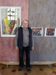 Михаил Шеремет и его фотографии на экспозиции Санкт-Петербургской биеннале «Фехтование в искусстве» 2019