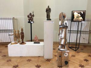 Скульптура на экспозиции «Фехтование в искусстве» 2019