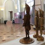 Гренадёры Михаила Крашенинникова на экспозиции «Фехтование в искусстве» 2019