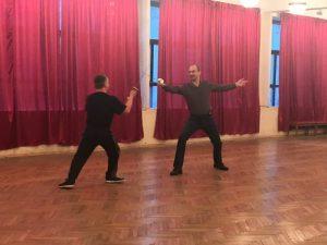 День открытых дверей -2019 в школе «Плащ и шпага». Выступают Руслан Каприлов и Георгий Кобиашвили