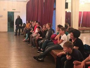 День открытых дверей -2019 в школе «Плащ и шпага». Новые ученики с родителями