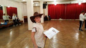 Ученик старшего курса школы «Плащ и шпага» Георгий Бондаренко. Фото отца.