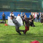 Второй День Фехтовальщика в Петропавловской крепости. Выступает ШФИСМ. Фото: Clegg