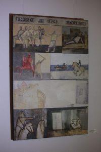 Шинкарев В. Н. Из серии «Всемирная литература» — Кретьен де Труа «Персеваль» 1999 110х76, xолст, масло