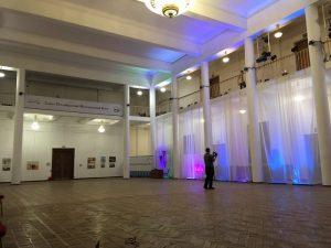 Ассамблея Гранд Ассо 2020. Общий вид зала с выставкой В.Шинкарева