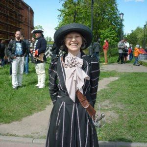 Дизайн одежды от VALERIA MIRONOVA. День Фехтовальщика 2015