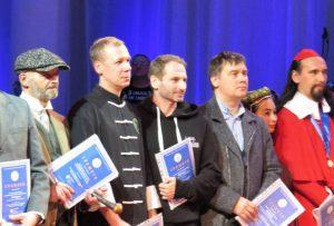 День Фехтовальщика 15 ноября 2020 Фото: Сергей Ефимов. Участники награждаются Почётными грамотами