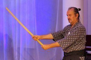 Рассанов Владислав, руководитель Клуба традиционного японского фехтования «Хокутокай»