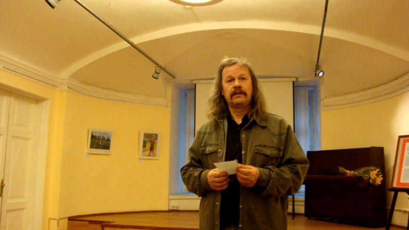 Поэт Валерий Земских прочел совсем новое стихотворение