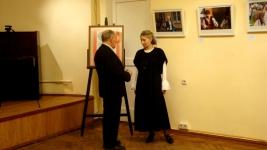Профессор А.Л.Тимковский на вечере Дней фехтовальной культуры