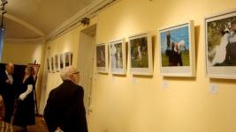 На выставке фотографий Вит.Федорова