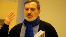 Поэт Арсен Мирзаев. . СПбФК-Дни фехтовальной культуры 2014 Поэтический вечер