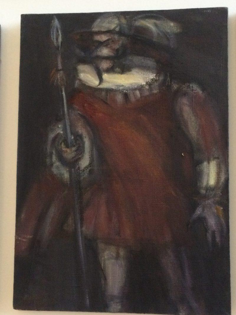 Баделина Светлана «В дозор», триптих
