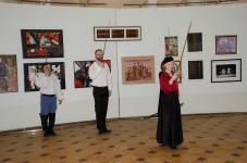 Члены Совета Санкт-Петербургского Фехтовального Клуба приветствуют гостей на 10-летии СПбФК