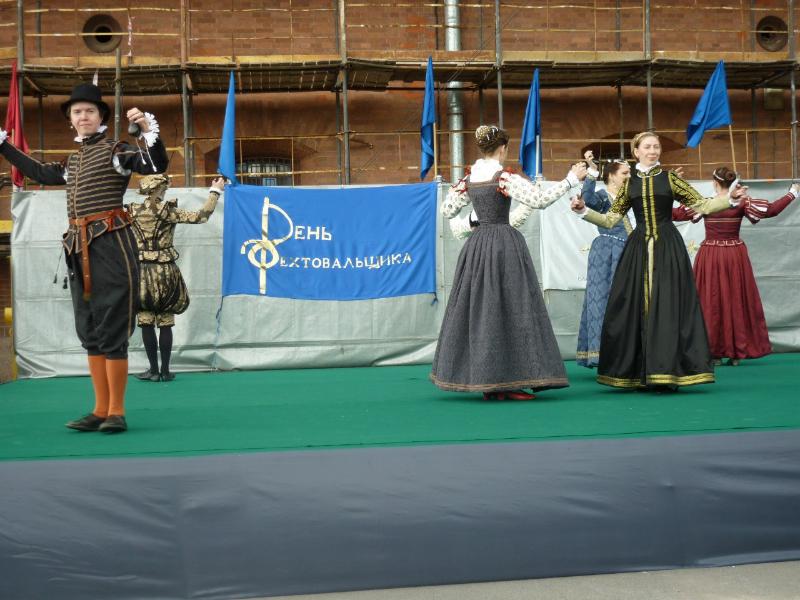 Ансамбль танцев эпохи Возрождения «Vento del tempo» Петербургский праздник