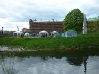 День Фехтовальщика 2015 на территории Музея артиллерии на берегу Кронверкского протока