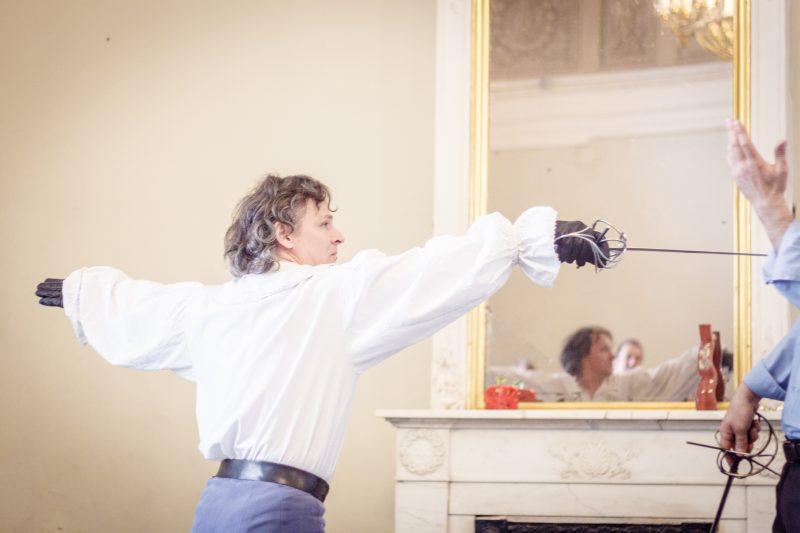 Руслан Каприлов на презентации СПбФК в Комитете по культуре. 2015. Фото: Александр Скобелкин