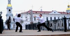 Борисов Михаил На Красногвардейском мосту случай. Триптих. 2017
