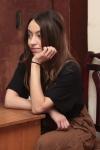 Валерия Миронова - модельер, художник по костюмам СПбФК на Святочном вечере фехтовальщиков 2017. Фото Anton Yarko