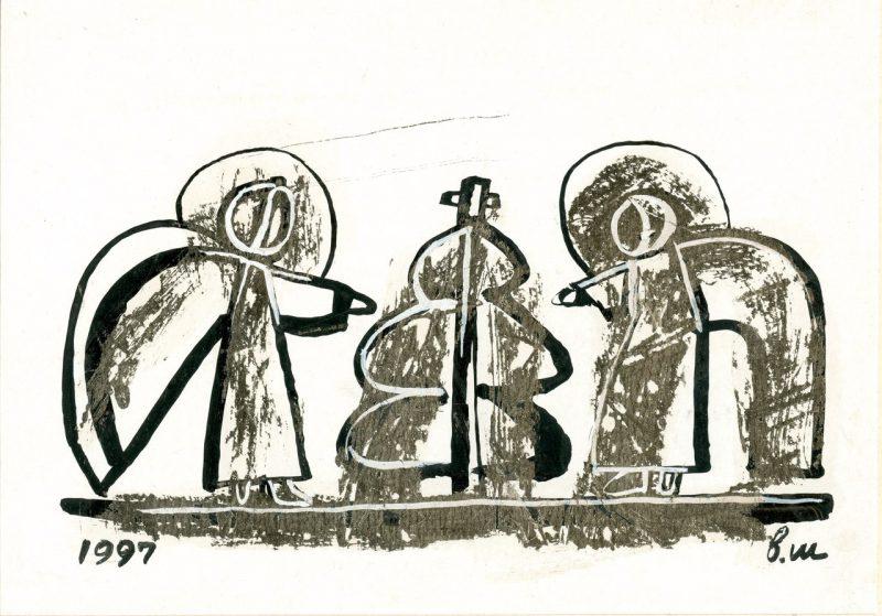 «Рождество Христово!» Художник Владимир Шинкарев, почетный учредитель СПбФК