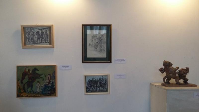 Виктор Тихомиров Иллюстрация к «Трем мушкетерам» (по М. Лелуару), 2015. Б., кар.