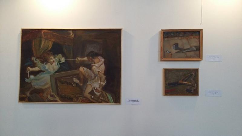 Виктор Тихомиров Выставка