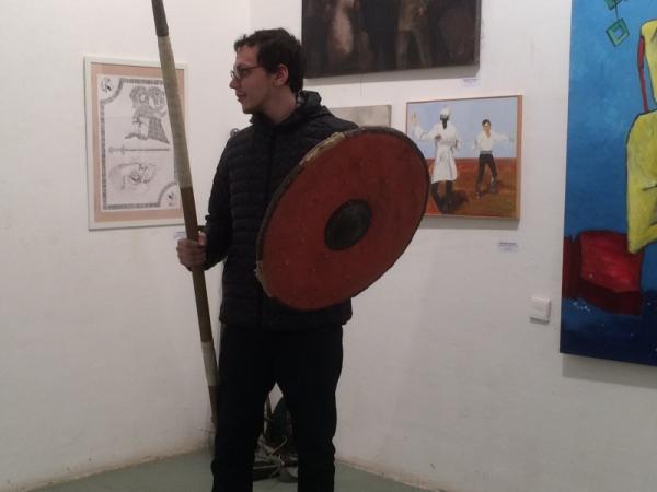 Сергий Туляков на открытии Дней фехтовальной культуры 2017