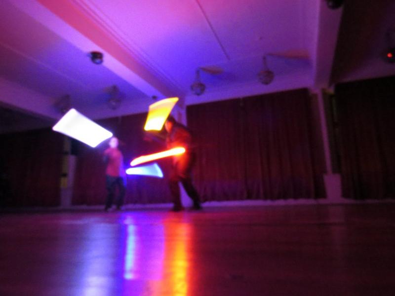 Творческая группа «Скиурус».Святочный вечер фехтовальщиков 2016 в Санкт-Петербургском Фехтовальном Клубе.  Фото Алла Андреева