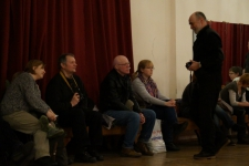Святочный вечер фехтовальщиков 2016 в Санкт-Петербургском Фехтовальном Клубе. Фото Алла Андреева