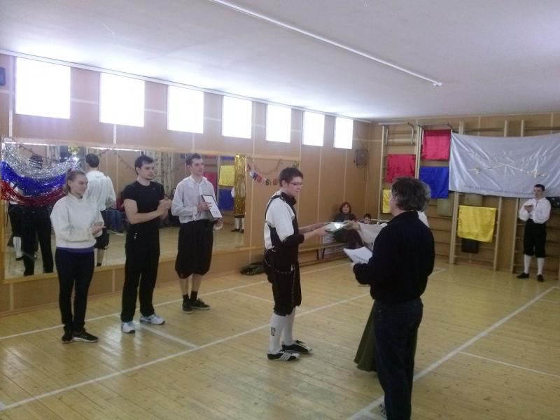 Впервые: Турнир неофитов в Санкт-Петербургском Фехтовальном Клубе. 2015